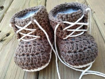 Baby Boy Work Boots Brown